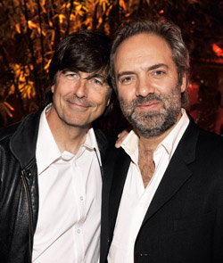 Thomas Newman with Skyfall Director Sam Mendes