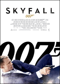 Daniel Craig stars as James Bond 007 in the latest film Skyfall due for release in October 2012