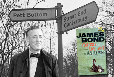 From Kent, With Love - Ian Fleming & James Bond The Kentish Connection. Exclusive Article!