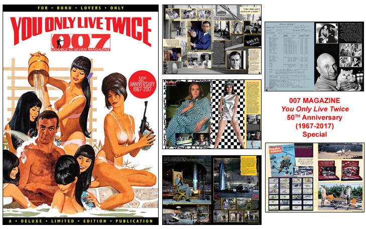 007 MAGAZINE You Only Live Twice 50th Anniversary (1967-2017) Special