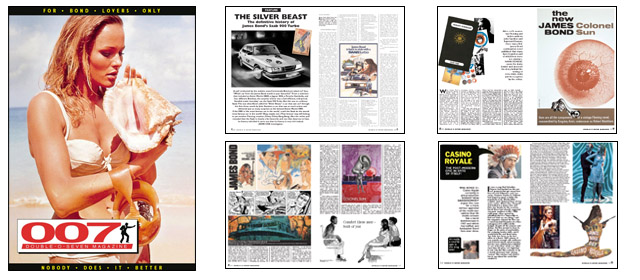 007 MAGAZINE issue 47 - The Silver Beast James Bond SAAB, Casino Royale, Kingsley Amis, Colonel Sun, Robert Markham