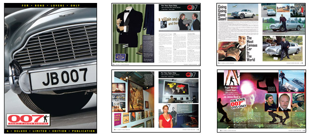 007 MAGAZINE #53 - James Bond's Aston Martin DB5 from Goldfinger and Thunderball