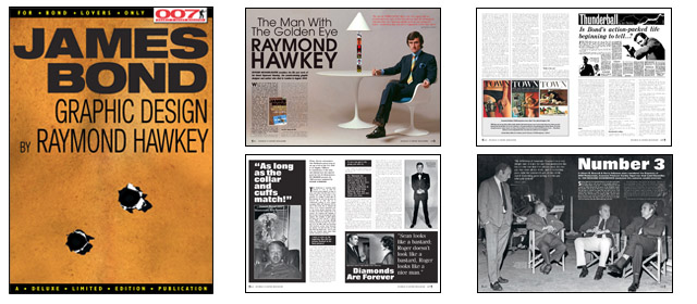 007 MAGAZINE #54 - Raymond Hawkey - The Man With The Golden Eye