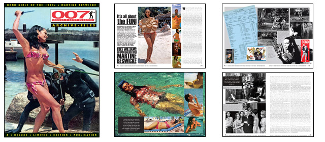 007 MAGAZINE ARCHIVE FILES - Bond Girls of the 1960s - Martine Beswicke