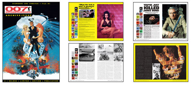 007 MAGAZINE ARCHIVE FILES - Diamonds Are Forever File #1