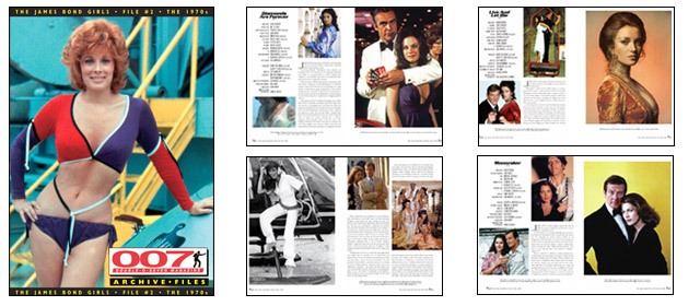 007 MAGAZINE ARCHIVE FILES - The James Bond Girls - File #2 The 1970s