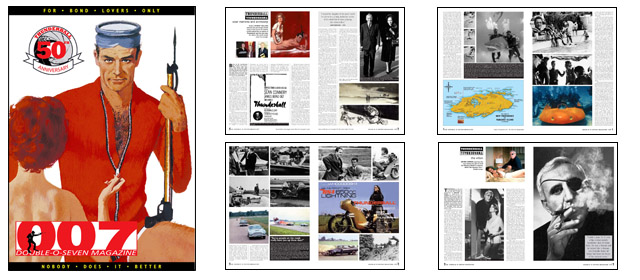 007 MAGAZINE Thunderball 50th Anniversary 76-page special