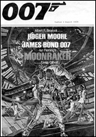 007 MAGAZINE Issue #2 - Moonraker poster