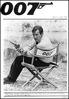 007 MAGAZINE Issue #5 - Roger Moore James Bond 007 Live And Let Die