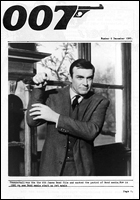 007 MAGAZINE Issue #6 - Sean Connery James Bond 007 Thunderball