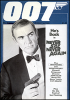 007 MAGAZINE Issue #14 - Sean Connery James Bond 007 Never Say Never Again