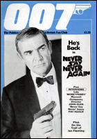 007 MAGAZINE Issue #14 REPRINT - Sean Connery James Bond 007 Never Say Never Again