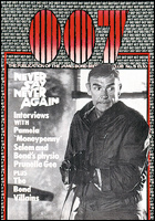 007 MAGAZINE Issue #15 - Sean Connery James Bond 007 Never Say Never Again