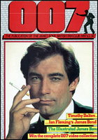 007 MAGAZINE Issue #17 (FAN CLUB) - Timothy Dalton James Bond 007 The Living Daylights