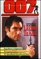 007 MAGAZINE Issue #19 - Timothy Dalton James Bond 007 Licence To Kill