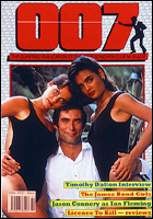 007 MAGAZINE Issue #21 Timothy Dalton as James Bond in Licence To Kill