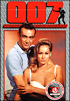 007 MAGAZINE Issue #25 - Sean Connery & Ursula Andress in Dr. No