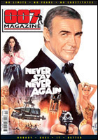 007 MAGAZINE Issue #40 Never Say Never Again cover