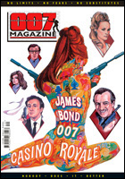 007 MAGAZINE Issue #40 Casino Royale cover