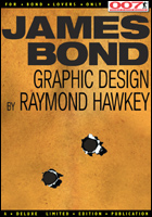 007 MAGAZINE ISSUE 54 - Graphic design by Raymond Hawkey - THUNDERBALL Pan paperback cover