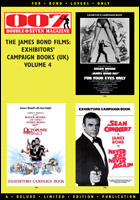 007 MAGAZINE - The James Bond Films: Exhibitors' Campaign Books (UK) Volume 4