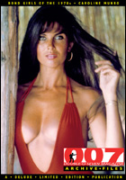 007 MAGAZINE ARCHIVE FILES – Bond Girls of the 1970s - Caroline Munro