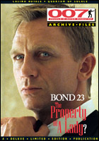 007 MAGAZINE ARCHIVE FILES - Casino Royale & Quantum of Solace - Daniel Craig as James Bond