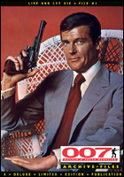007 MAGAZINE ARCHIVE FILES - Live And Let Die - File #1 Roger Moore as James Bond 007