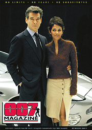 Proposed cover for Issue #41(b) Pierce Brosnan Halle Berry Die Another Day