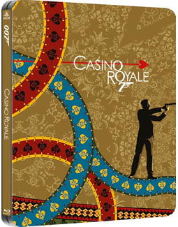 Zavvi exclusive Casino Royale Blu-ray steelbook