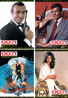 Selected 007 MAGAZINE ARCHIVE FILES Back Issues now half price - reduced to clear!