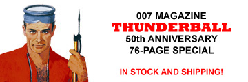 007 MAGAZINE Thunderball 76-page Special Issue