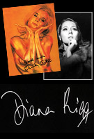 James Bond autographed items - First Editions - James Bond Merchandise