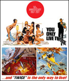 You Only Live Twice 50th Anniversary Limited Edition Poster and T-Shirt