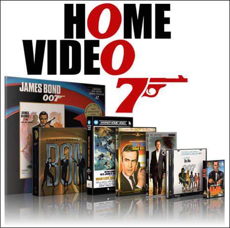 007 Home Video, an archive of international James Bond home-video sleeve art