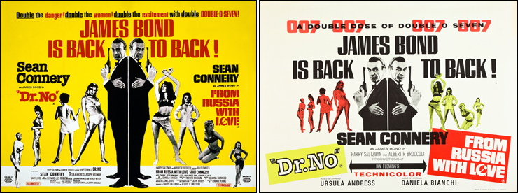 Dr. No/From Russia With Love double-bill