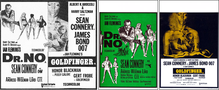 Dr. No-Goldfinger double-bill 1971