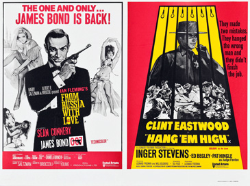 From Russia With Love/Hang 'Em High double-bill