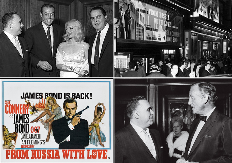 From Russia With Love - Odeon Leicester Square 1963