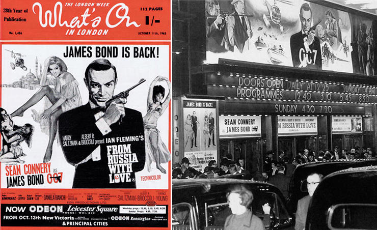 What's On In London/Odeon Leicester Square 1963