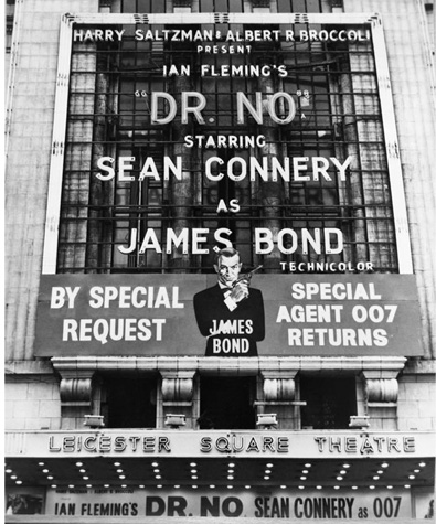 Dr. No at the Leicester Square Theatre 1964