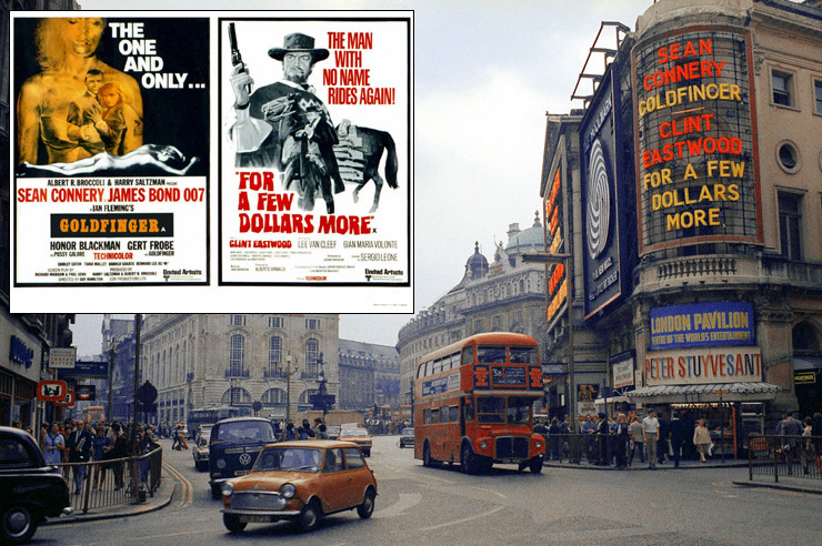 Goldfinger/For A Few Dollars More - London Pavilion 1971