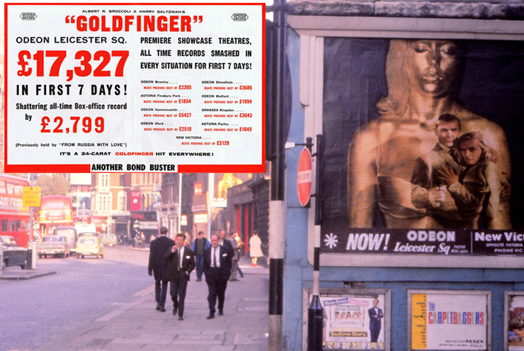 Goldfinger box-office Odeon Leicester Square