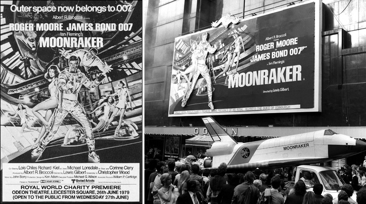 Moonraker Odeon Leicester Square