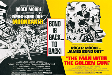 Moonraker/The Man With The Golden Gun double-bill