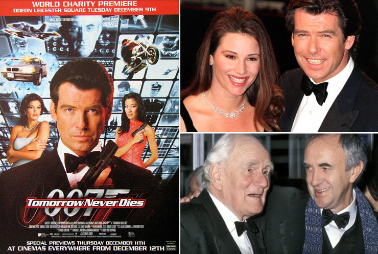Tomorrow Never Dies premiere Odeon Leicester Square