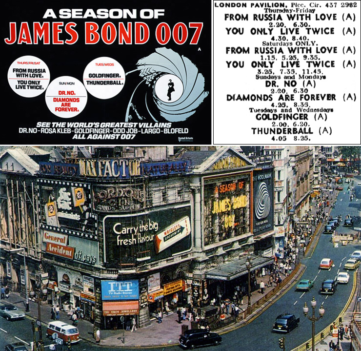 A Season of James Bond 007 - London Pavilion 1975