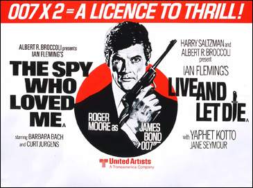 The Spy Who Loved Me/Live And Let Die double-bill
