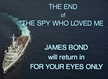 The Spy Who Loved Me end credits