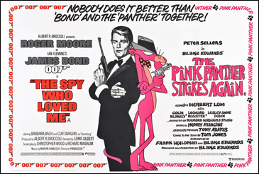 The Spy Who Loved Me/The Pink Panther Strikes Again double-bill